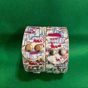 Lilly Pulitzer Snap Bracelets - Mondrian